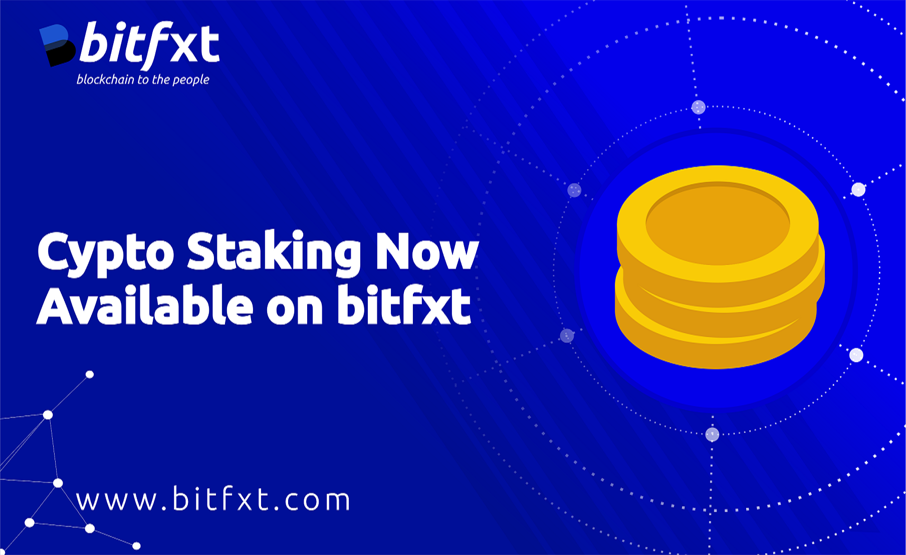 cryptocurrency staking added on bitfx