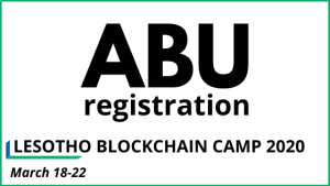 Lesotho Blockchain Camp 2020 on Africa Blockchain Series
