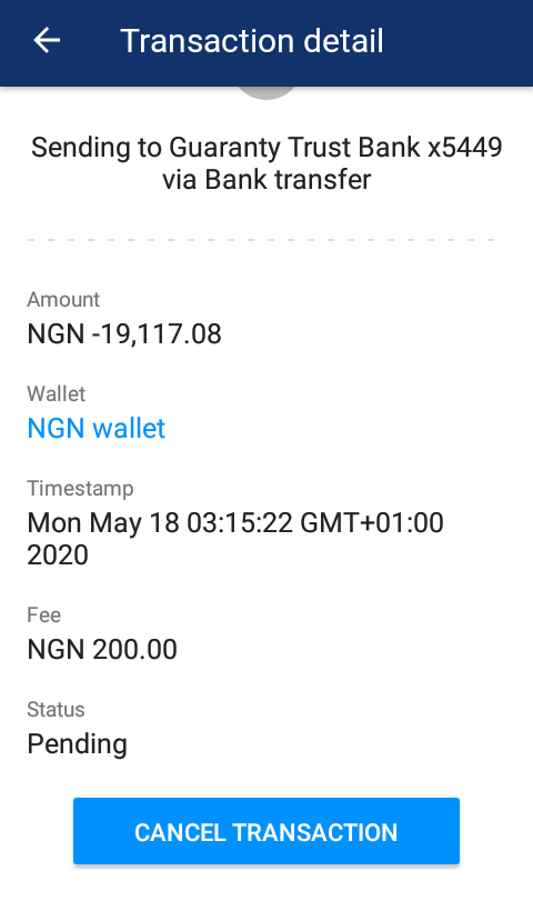 how to withdraw Naira from Luno